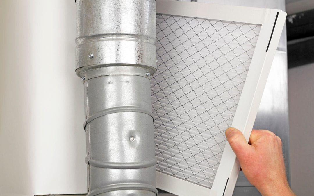 improve home safety by replacing HVAC filters